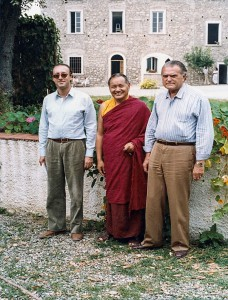 Lama Yeshe e la famiglia Corona