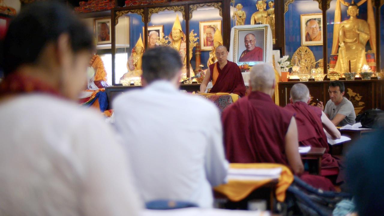 Studenti MP sala di meditazione