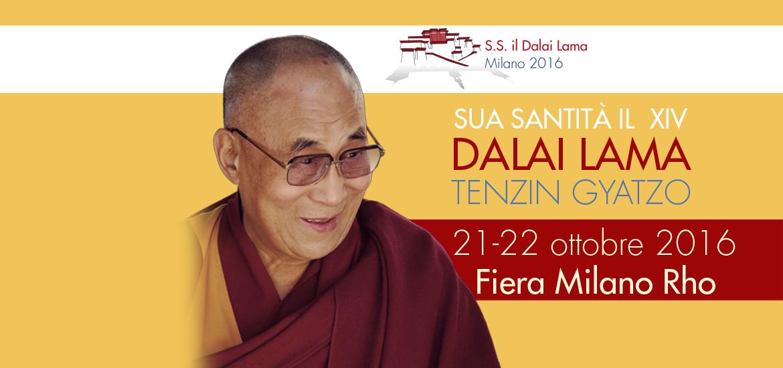 Dalai Lama Milano 2016