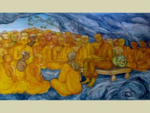 13 First Council at Rajagaha, at the Nava Jetavana, Shravasti